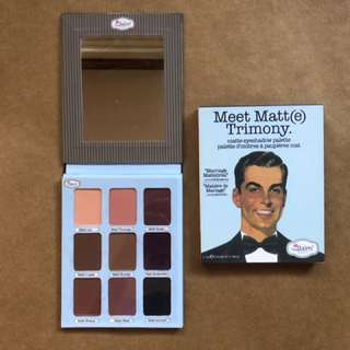 Meet Matte Trimony Eyeshadow Palette