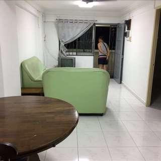 3-Room Flat Rental