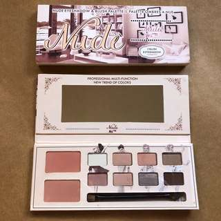 Nude Eyeshadow/Blush Pallette
