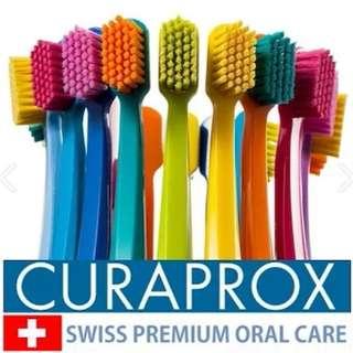 Curaprox toothbrush **Swiss premium brand**