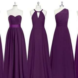 GOWNS FOR RENT AND MADE TO ORDER