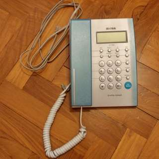Alcom Caller ID Phone-No battery needed
