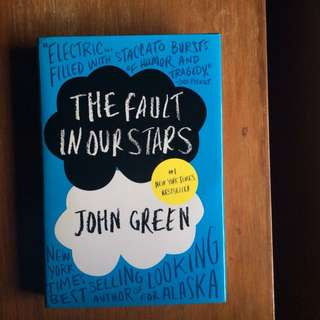 John Green The Fault In Our Stars Hardbound