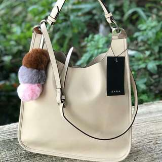 ZARA WOMEN POMPOM NEW