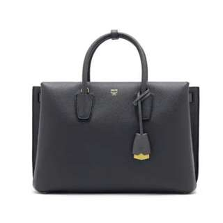 Black Leather Bag - MCM Milla ($1,100 originally)