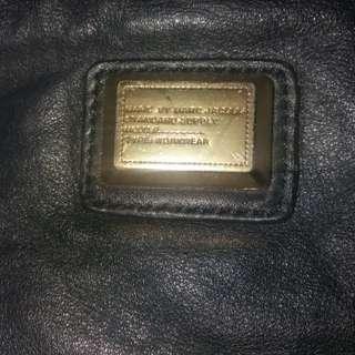 Mj Marc Jacobs leather shoulder bag