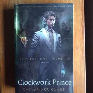 Clockwork Prince (The Infernal Devices) Cassandra Clare