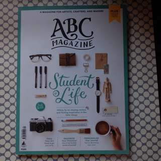 ABC student of life art magazine by Abbey Sy