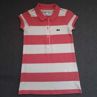 Original authentic lacoste toddler size 2t