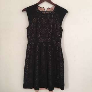 Forever21 Black Lace dress