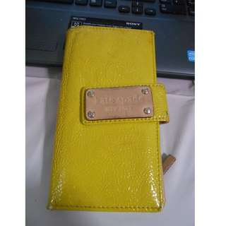 Kate spade neon wallet at $15 (Clearance)