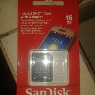 SanDisk  MicroSDHC  card