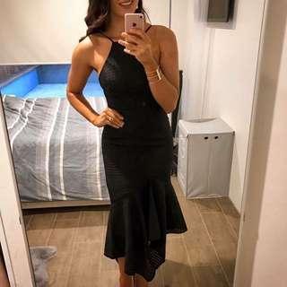 Shona joy black cocktail dress