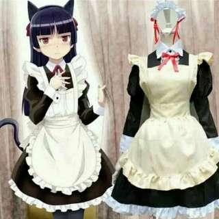 黑猫女僕cos服 cosplay