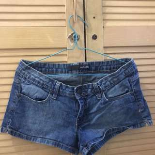 Hot pants anchorblue jeans