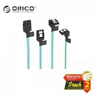Orico CPD-7P6G-BW902S 2 Pack SATA III Cable with Locking Latch