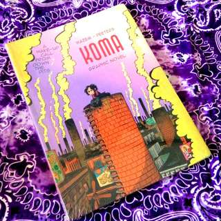 Koma Graphic Novel