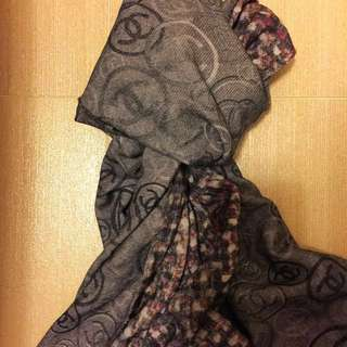 Chanel cashmere scarf 頸巾