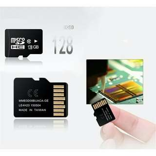OEM 128gb microSD card not SanDisk Samsung Evo Kingston or Toshiba Exceria