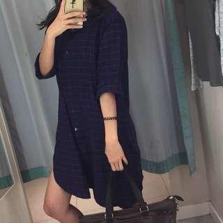 flanel dress