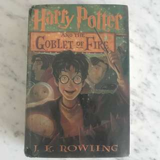 Harry Potter Goblet of Fire (hardbound)