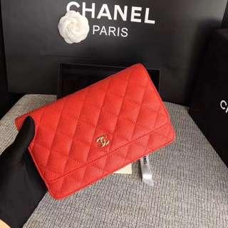 Chanel WOC Caviar GHW