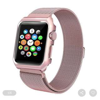 IWatch magnectic strap red rose