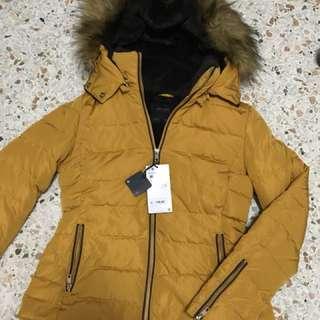 Authentic Zara winter coat