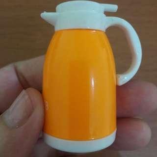 New Serutan Pencil Bentuk Teko Orange