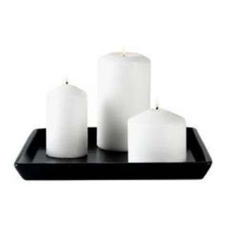 Candle plate holder