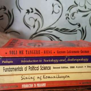 TextBooks [50pesos each]