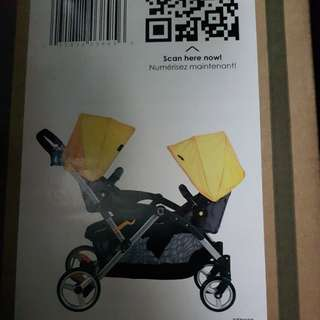 Stroller (double) slightly used