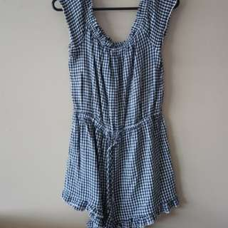 Playsuit size 12