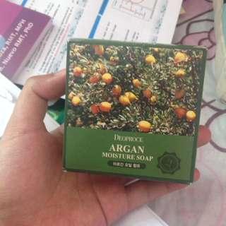 Deoproce argan moisture soap