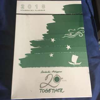 Starbuck 2018 Planner Large with Christmas Limited Edition Tumbler
