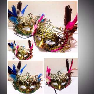 Couple Masquerade Masks