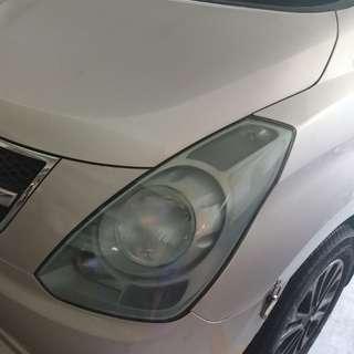 Hyundai starex headlights
