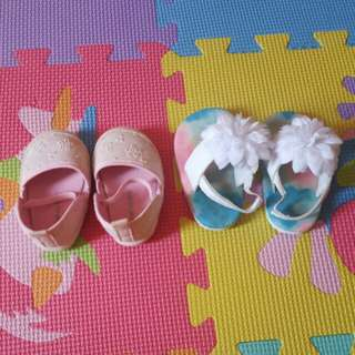 Shoes 3-6 mos