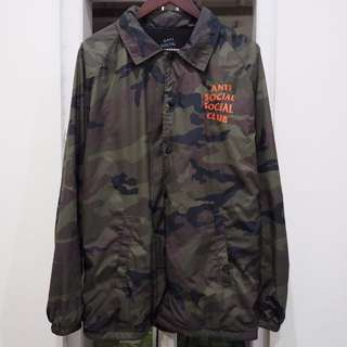 Coach jacket camo anti social social club (assc) size L