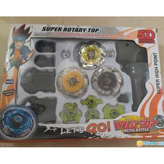 全新 Super Rotary Top Multi Color 爆旋陀螺-售$80