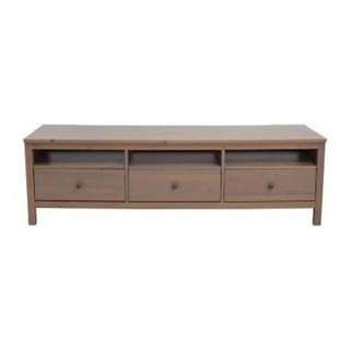 TV bench with 3 drawers