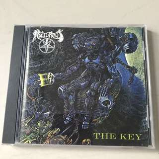 Nocturnus The Key CD 1st Press Earache 1990 Death Metal Morbid Angel