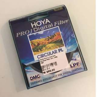 Hoya 67mm Pro1 Digital Circular Polarising PL Filter CPL C-PL