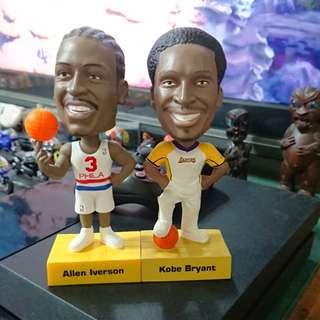 NBA Kobe Iverson 兩隻一起賣
