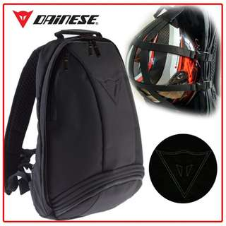 Dainese multiple bagpack (helmet carrier) with bag raincoat
