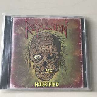 Repulsion Horrified CD Necrosis 1989 1st Press Rare!!! Grindcore Napalm Death