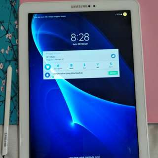 "Samsung tab A 10,1"" with pen"