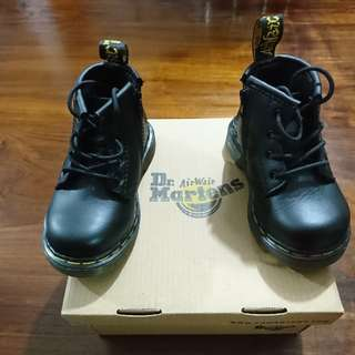 Dr Martens Boots (Brooklee B Black Noir)