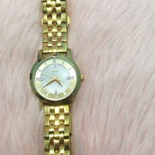 Relic by Fossil Gold Tone Watch