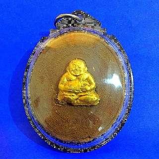 ⭐️Phra Sangkachai & 9th King Amulet by Lp Dum